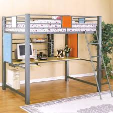 queen sized loft beds medium size of bed with desk full size loft