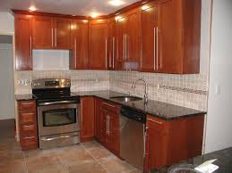 glass backsplash with white cabinets real wood kitchen cabinet