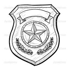police badges coloring pages for kinder and firefighter badge page
