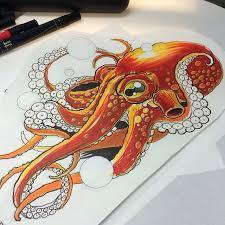 best 25 octopus sketch ideas on pinterest kraken tattoo kraken