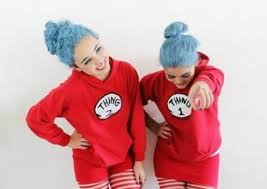 sweater thing 1 thing 2 dr suess hoodie bff