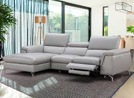 Power Sectional Sofa Italian Leather Power Recliner Sectional Sofa Nj Saveria Leather