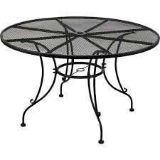 black patio table glass top black patio table and round patio dining table 13 lowes black iron