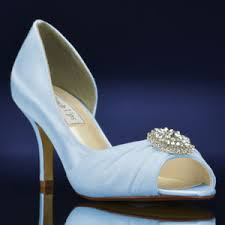 light blue wedding flats helen 4136 by touch ups at bridalshoes com