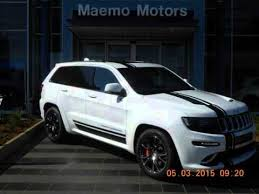 jeep srt8 6 4 used 2015 jeep grand 6 4 l v8 srt8 a t auto for sale