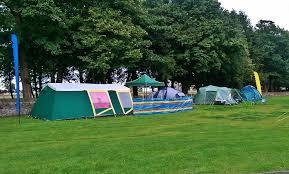 Comfortable Camping The Edinburgh Festival Campsite Edinburgh Festival Camping
