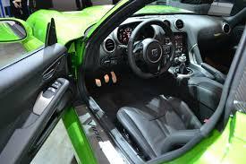 Dodge Viper Green - dodge viper stryker green steering at naias 2014 indian autos blog