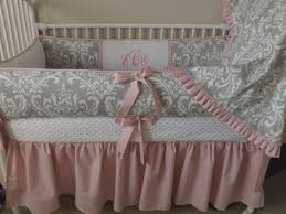 Pink Elephant Nursery Decor by Bedroom Pink And Grey Nursery Bedding Pink And Grey Elephant