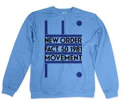 new order movement crew neck sweatshirt