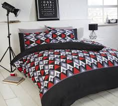 Black And White Paisley Duvet Cover Black White And Red Duvet Covers 3079