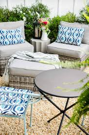 At Home Patio Furniture One Patio Styled Three Ways Thou Swell