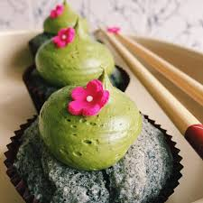 sesame cupcakes black sesame matcha cupcakes monday bakeoffs with izzy