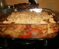 tele 7 jours recettes cuisine crumble aux légumes recette de crumble aux légumes marmiton