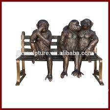 Monkey Bench Bronze Sculpture 3 Monkeys Bronze Sculpture 3 Monkeys Suppliers