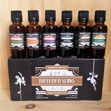 wine sler gift set bittered sling aromatic bitters gift set 6 x 3cl fareham wine cellar