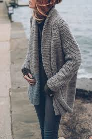 how to knit a sweater how to knit a chunky knit cardigan yishifashion