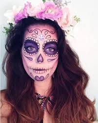 dia de los muertos halloween makeup dia de and sugar skulls