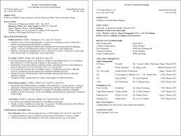 Sample Resumes For Internships by Resume Examples Umd