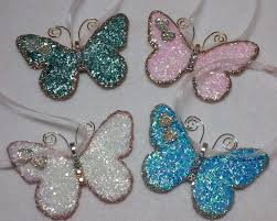 diy gorgeous vintage butterfly christmas ornaments so easy