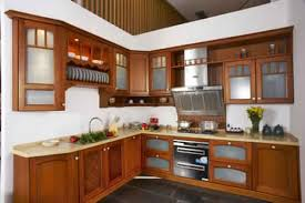 des cuisines en bois meuble de cuisine moderne en bois 1 idées de décoration intérieure