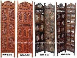 colored folding screen room divider antique wooden screen room