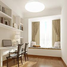 Bedroom Led Ceiling Lights Le 12w 11 Inch Daylight White Led Ceiling Lights 80w Incandescent