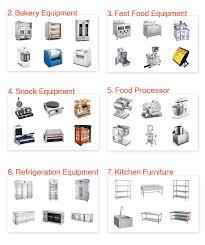 kitchen furnitures list kitchen magnificent restaurant kitchen equipment list hotel on