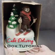cake delivery cake delivery box tutorial artisan cake company