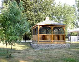 Outdoor Patio Gazebo 12x12 by Customer U0027s Photo 12 U0027 X 12 U0027 Treated Pine Rectangular Gazebo