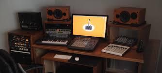 mhb u0027s new custom recording studio desk mhb music