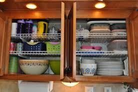 rv kitchen cabinet storage ideas 24 easy rv organization tips rvshare