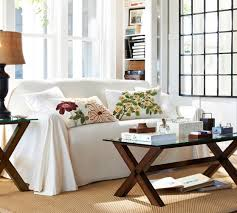 Pottery Barn Loose Fit Slipcover Dropcloth Loose Fit Slipcover Twill Pottery Barn Home Design 2017