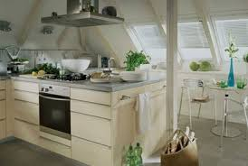 dachgeschoss k che dachwohnfenster velux für optimale beleuchtung galerien ideen