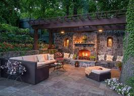 Patio Pictures Ideas Backyard 217 Best Outdoor Fireplaces Images On Pinterest Gardening