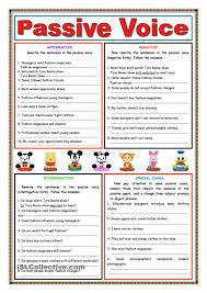passive voice present simple passive voice pinterest