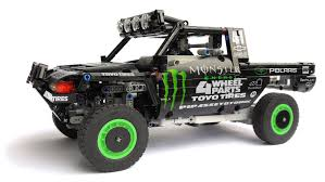 lego land rover lego technic trophy truck monster youtube cartoons pinterest