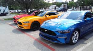 2018 mustang refresh released 2018 mustang photos cj pony parts