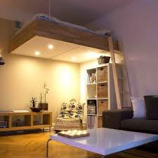 loft bed design adult loft bed bespoke wood lights best design 2016 apartment