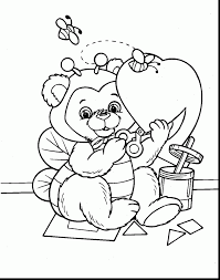 outstanding printable valentine coloring pages with valentines day