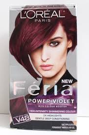 how to get cherry coke hair color l oreal paris feria power violet high intensity shimmering colour