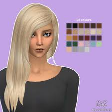 custom hair for sims 4 sims 4 hairs david sims david sims rock hairstyle retexture