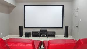 Projector Media Room - home theater mymedia installer home theater installation dallas