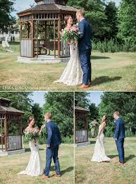 colorful whimsical henniker backyard wedding erika follansbee