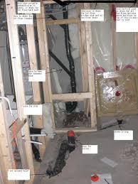 Diy Basement Bathroom Basement Layout Feasibility Existing Venting Options New Basement