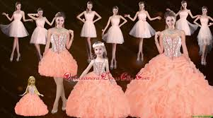 quinceanera dolls sturning straps and beaded quinceanera dresses and baby pink
