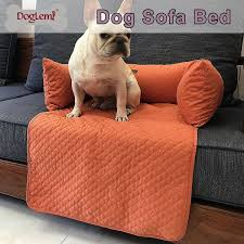 doglemi pet warm sofa bed mat dog cat waterproof detachable and