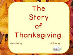 thanksgiving story to read and illustrate thanksgiving stories
