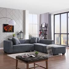 Sectional Sofa With Ottoman Sectional Sofa With Ottoman Wayfair