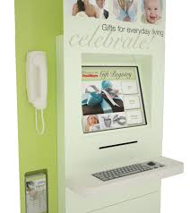 fred meyers wedding registry custom retail kiosk fred meyer gift registry kiosk by olea