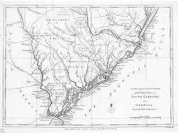 Georgia South Carolina Map Hargrett Library Rare Map Collection Revolutionary Georgia